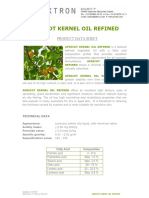 Apricot Kernel Oil Refined / Certifiicate Of Analysis
