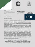 Petición Abierta de ADEA Al Señor Gobernador Luis Pérez Gutiérrez.
