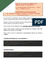 Javascript Tome Xxii Accessibilité des Éléments d'Array et d'Objet