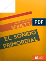 El Sonido Primordial Luis Alberto Spinetta