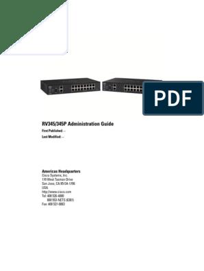Cisco RV345-RV345P Dual WAN Gigabit VPN Router