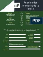 Inscription à La Réunion Des Membres de La Famille Nextstep