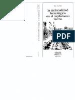 RacionalidadTecnologica LeoKofler