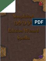 Wizard Spells