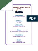 Practica Docente III Tarea 1 UAPA