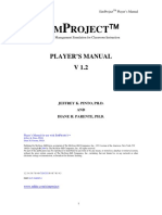 SimProject 1.2 PlayersManual
