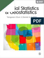 Spatial Statistics & Geostatistics - Yongwan Chun, Daniel a Griffith