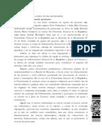 Resolución de la Corte de Apelaciones de Santiago