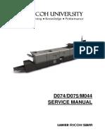 RicohC651 Service Manual