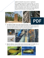 Biomimicry Examples
