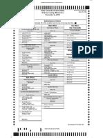 Burnsville sample ballot, provided by