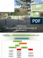 Informe de Gestion Hospital San Bartolomé