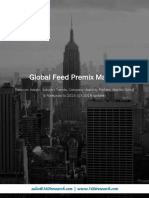Global Feed Premix Market - Premium Insight, Industry Trends, Company Usability Profiles, Market Sizing & Forecasts to 2024 (Q3 2018 Update)