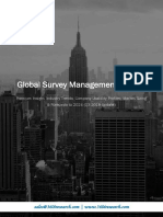 Global Survey Management Market - Premium Insight, Industry Trends, Company Usability Profiles, Market Sizing & Forecasts to 2024 (Q3 2018 Update)