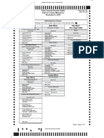 Sample Apple Valley ballot, provided by