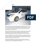 Toyota Prius Case Study
