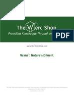 Nexus Natures Diluent