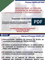 Conferencia Mendoza - Tecnología HDHPLUS-SHP