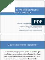 Apresentação_Programa de Monitoria Inclusiva