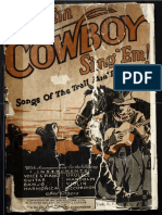 Sing 'Em, Cowboy, Sing 'Em! Songs of the Trail and Range