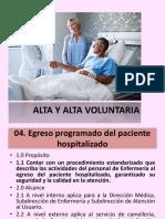 Alta y Alta Voluntaria