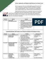 Methodik Und Didaktik DaF DaZ PLUS Mit Online Tools KURSPROGRAMM
