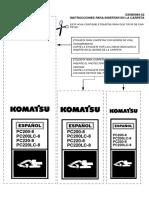 Monitor Komatsu -8