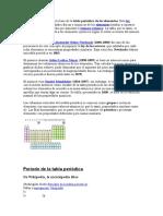 La ley periódica es la base de la tabla periódica de los elementos.doc
