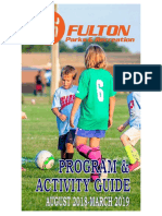 City of Fulton Parks and Recreation Program and Activity Guide - Fall 2018