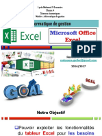 Cours EXCEL-GUILMI