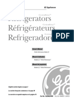 GE CustomStyle Refrigerator
