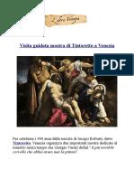 Visita guidata mostra su Tintoretto aVenezia