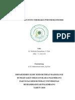 Cover, Halaman Pengesahan, Kata Pengantar Dan Daftar Isi Referat Radiologi