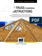 Roof Truss Installation Instructions