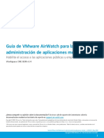 Vmware Airwatch Mobile Application Management Guide