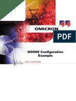 GOOSE Configuration Example