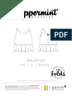 Peppermintmagazine Peplum.top Instructions