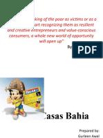 Casas Bahia Ppt