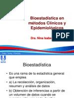 Bioestadistica en Metodos C y E