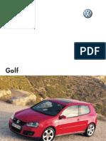 Catalog Golf 5 - 2008