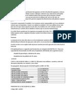 INFORME DE HOSPITAL MATERNO INFANTIL JULIACA
