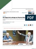 El Mapa de La Droga en Puerto Rico