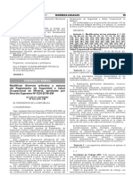D.S. Nº 023 2017 EM Modifican