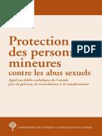 Protection Des Personnes Mineures 2018