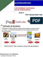 Aula 5. Biodiesel 2018