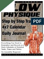 Primal Stress Training 4x7 Calendar