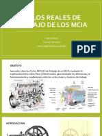 Ciclos Reales de Trabajo de Los MCIA