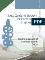 Red Book Seismic design of Tanks 2009 Final Including Figures2