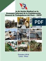 Propuesta de Accion Sindical de la CGTP en la Economía Informal