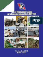 Plan de Accion Anual de la CGTP en la Economía Informal